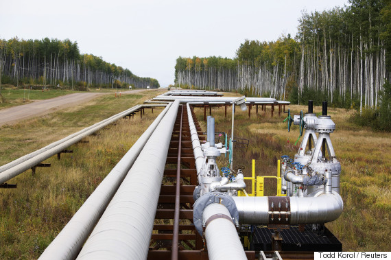 natural gas pipeline alberta