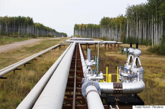 natural gas pipeline alberta