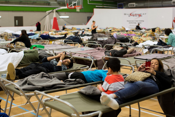 fort mcmurray evacuation centre