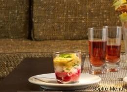 Vite fait, bien fait: Tartare de daurade, aubergines et betterave