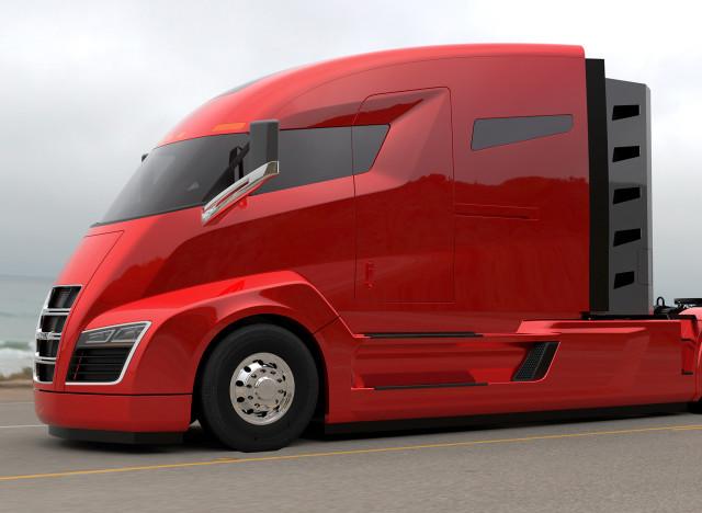 photos des camions lectriques hyper design qui ne sont pas sign s tesla. Black Bedroom Furniture Sets. Home Design Ideas