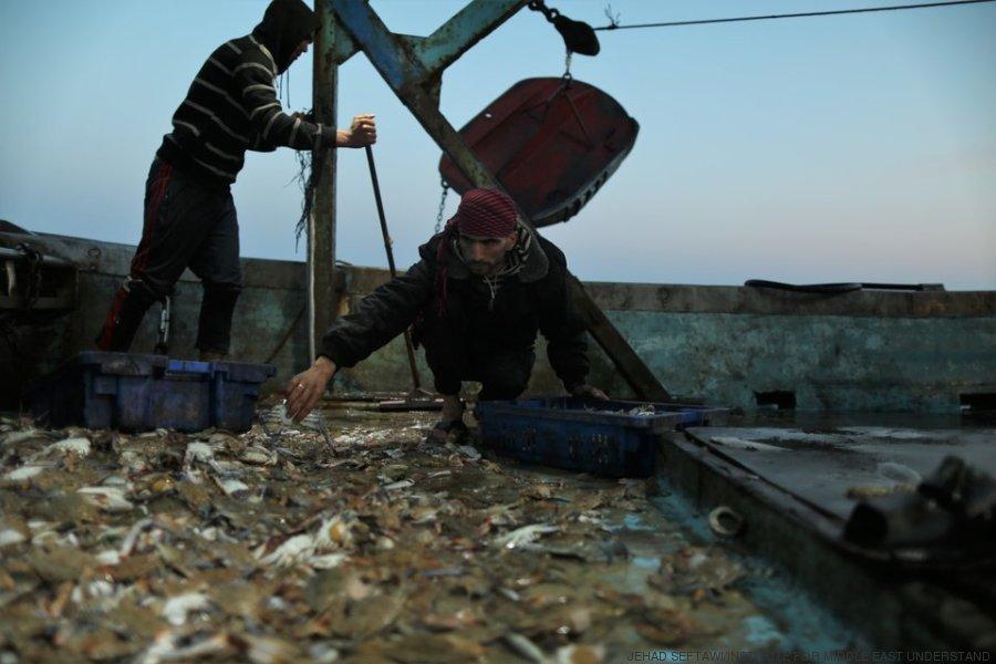 pescadores gaza