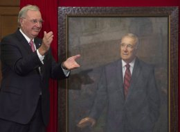 Paul Martin Throws Shade At Tories During His Portrait Unveiling