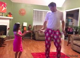 Justin Timberlake craque pour ce papa et sa fille qui dansent (VIDÉO)