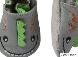 Rappel de pantoufles pour bébés Joe Fresh