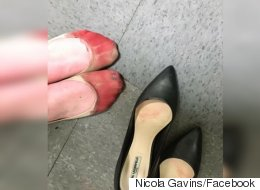 Server Was Forced To Wear Heels At Work. Look What Happened.