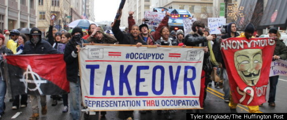 OCCUPY DC TAKEOVER