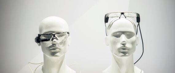 THE FIRST SMART GLASSES