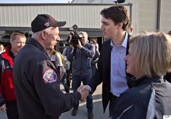 trudeau fort mcmurray
