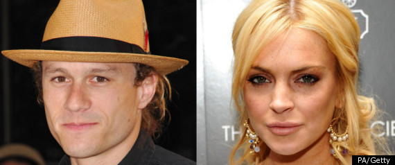 HEATH LEDGER LINDSAY LOHAN