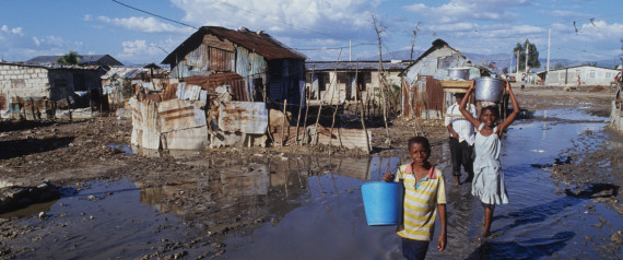 PORT AU PRINCE POVERTY