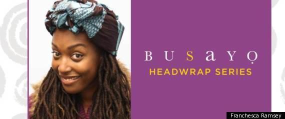 HEADWRAP TUTORIAL BUSAYO