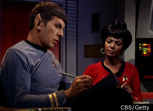 Mr. Spock Of 'Star Trek' A Woman? Nichelle Nichols Says She Was Offered Role In an interview with The Huffington Post, Nichelle Nichols revealed that she was the original Vulcan of Roddenberry's eye.