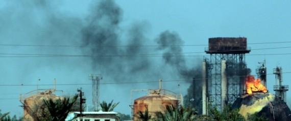 ATTENTAT RAFFINERIE DE GAZ EN IRAK