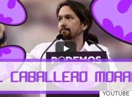 El vídeo que convierte a Pablo Iglesias en el superhéroe más oscuro