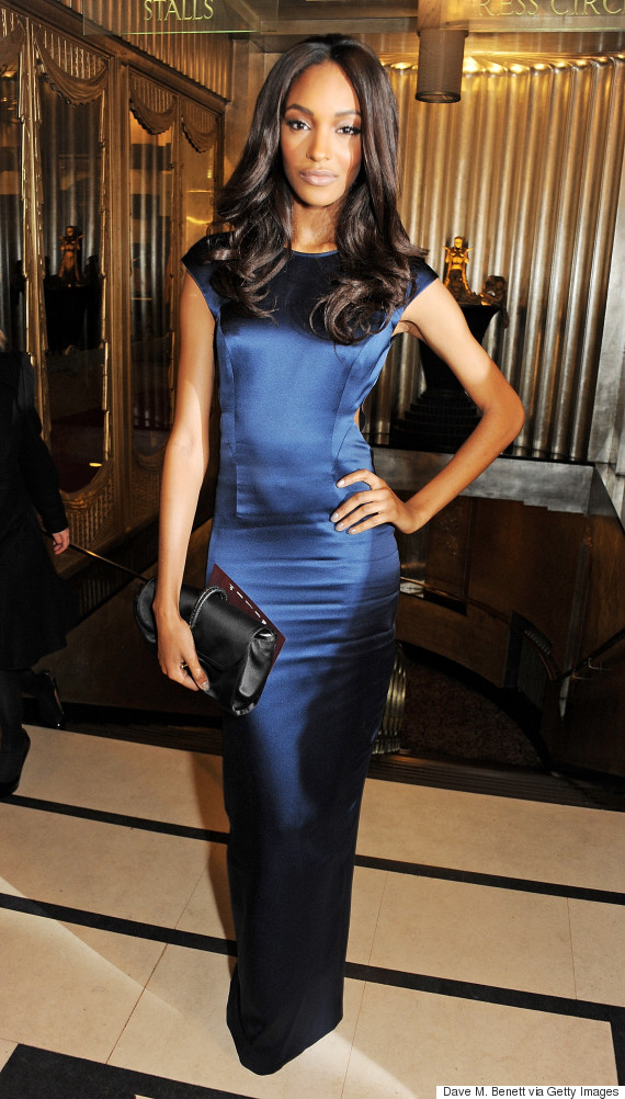 jourdan dunn 2012 british fashion