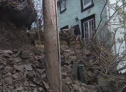 Un éboulement force l'évacuation d'une résidence à Québec