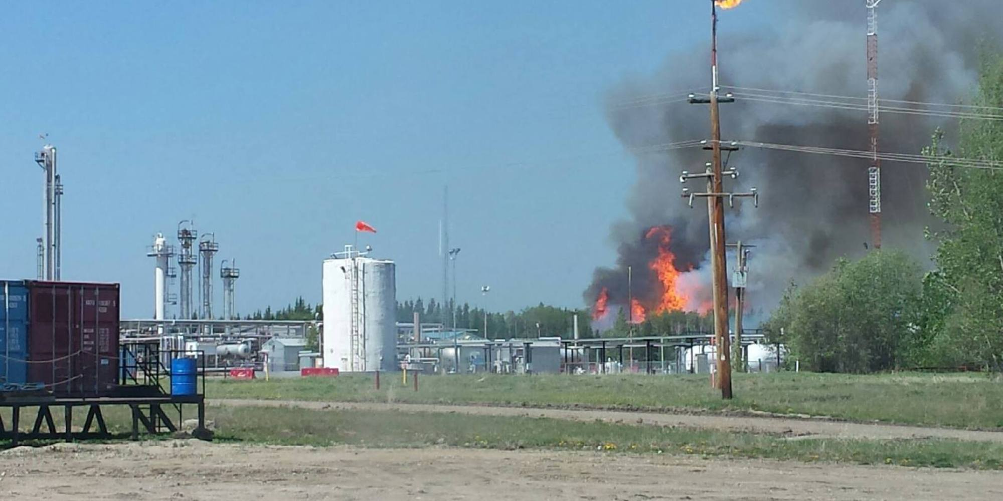 Fox Creek (AB) Canada  city photos : Alberta Fire: Mandatory Evacuation Order Issued For Municipal District ...