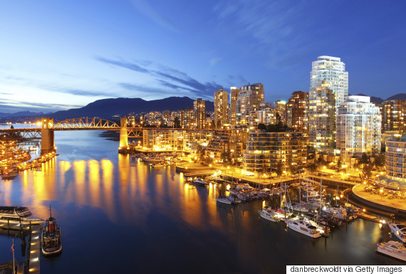 living in vancouver