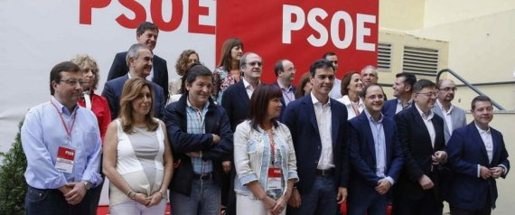 PRESIDENTES CCAA PSOE