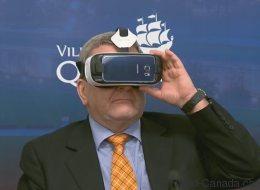 Des spécialistes en réalité virtuelle en congrès à Québec