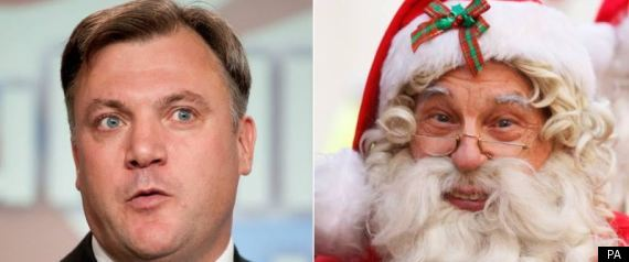 FATHER CHRISTMAS ED BALLS