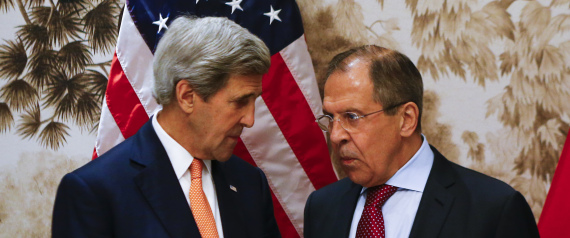 JOHN KERRY AND LAVROV