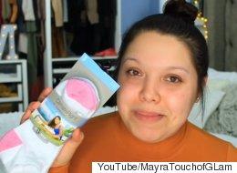 Le nouveau truc maquillage économique implique une chaussette (VIDÉO)