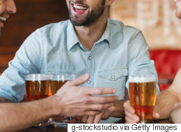 Sorry, Dads-To-Be, You Can't Drink Either