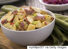 Light And Creamy Red Potato Salad Recipe