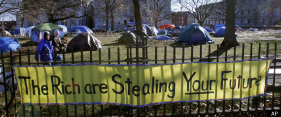 OCCUPY MAINE PROTESTERS