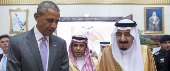 OBAMA AND KING SALMAN