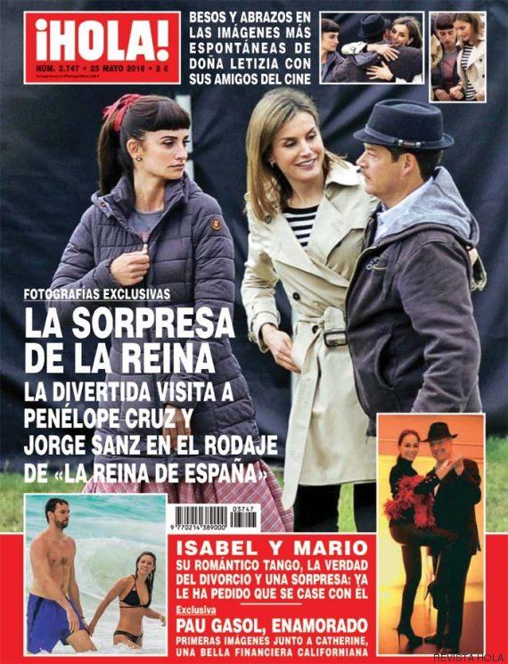 letizia reina espana rodaje