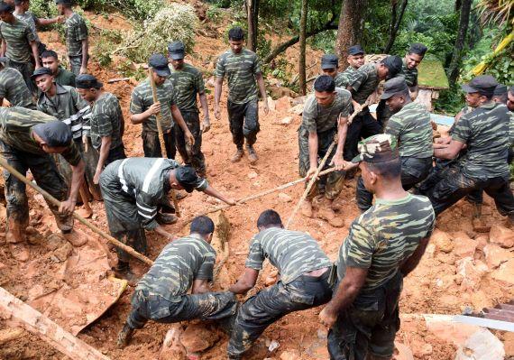 sri lanka landslides