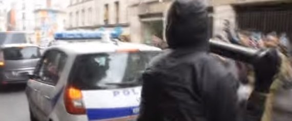 VIDEO VOITURE POLICE