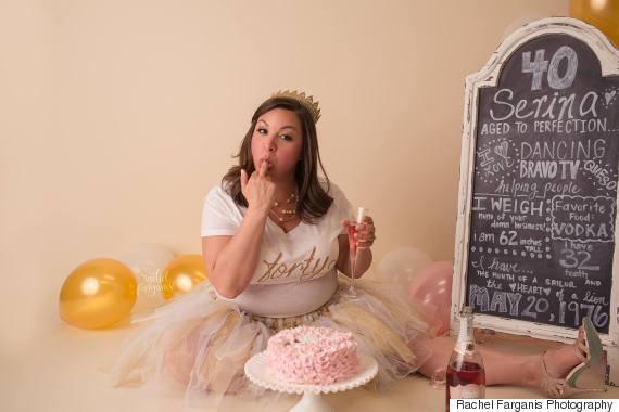 mom cake smash