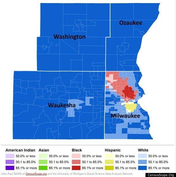 Milwaukee Finds Huge Racial Disparities In Traffic Stop