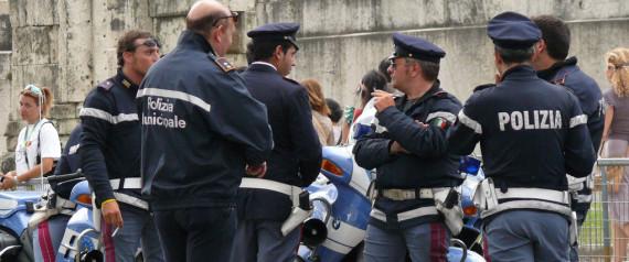 POLIZIA ITALIE