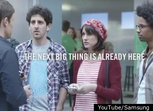 Samsung Apple Fanboys Ad Galaxy S Ii Iphone
