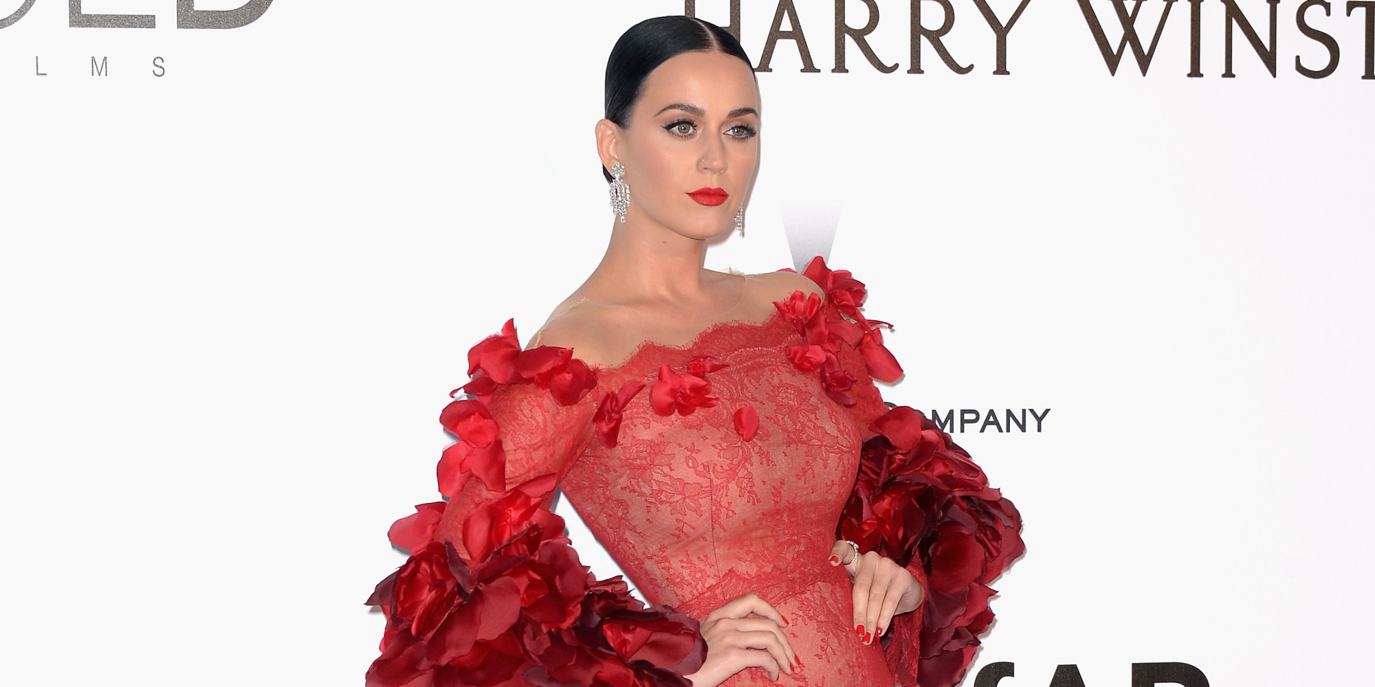 Cannes amfAR Gala 2016: Katy Perry Is The IRL Red Dress Dancing ...