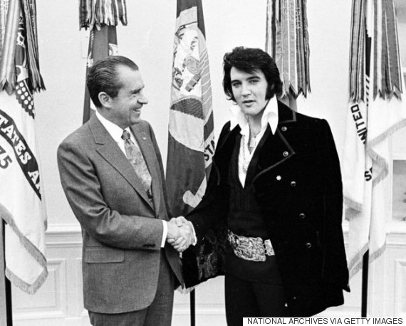richard nixon e elvis presley