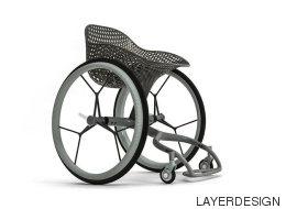 Ce fauteuil roulant sur-mesure est imprimé en 3D