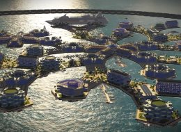 Artisanapolis, la ville flottante et modulable du futur (VIDÉO)