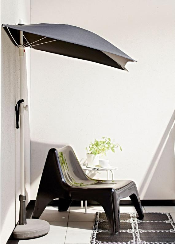 terraza sombrilla