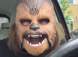 Le masque de Chewbacca est déjà en rupture de stock