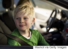 When Can Kids Sit In The Front Seat Of A Car?