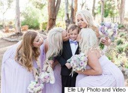 Ces enfants ont volé la vedette aux nouveaux mariés (PHOTOS)