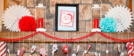 HOLIDAY GUIDE MANTEL DECOR