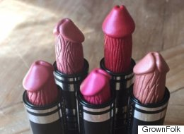 Ces rouges à lèvres en forme de pénis sèment l'émoi sur Internet