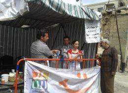 هل تخيلت يوماً أن يحصل السوريون على الطعام بالمجان في دمشق؟